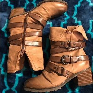 OTBT Berkshire leather boots